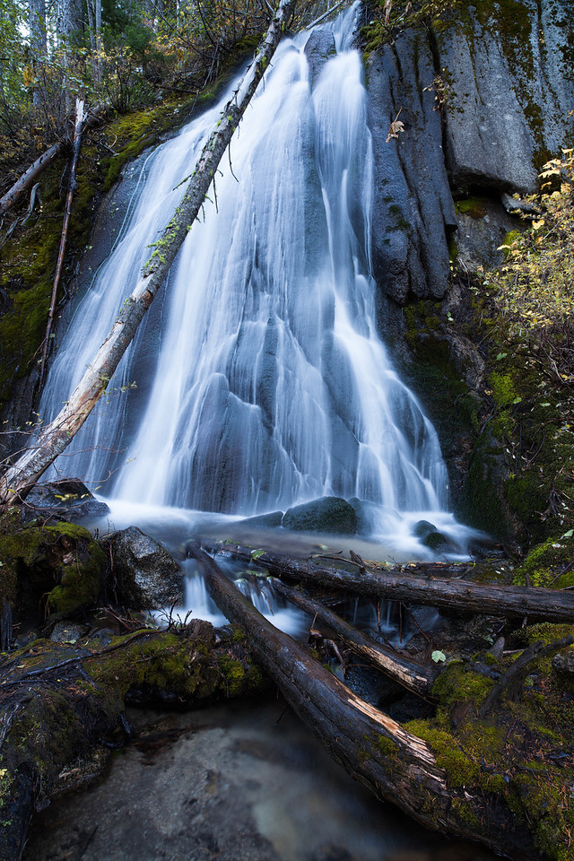 Colchuck Falls, Stuart Range, Washington State