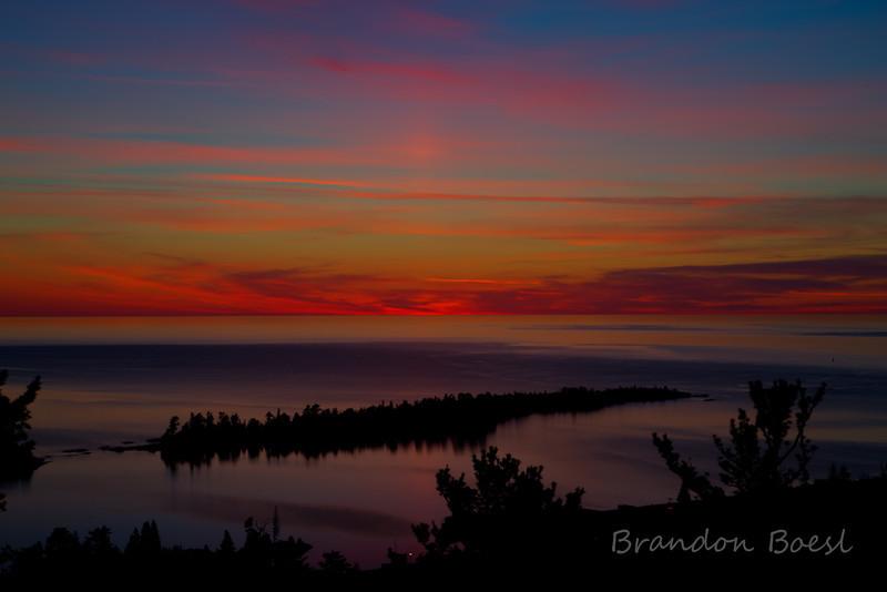 Sunrise from Mt Brockway