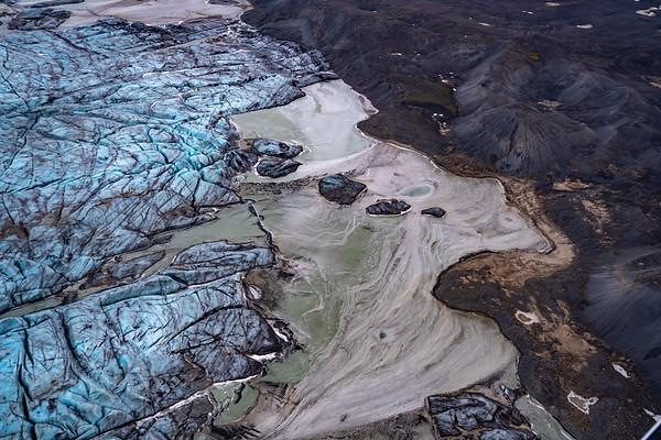 Skeiðarárjökull, Iceland