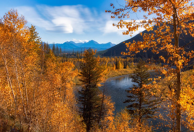 Autumn Morning in Glacier