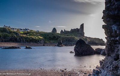 Dunure Castle Castle Ruins South Ayrshire