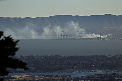 Fire at Candlestick Point