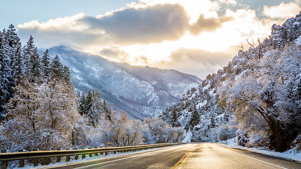 Logan Photographers, Logan Canyon Winter