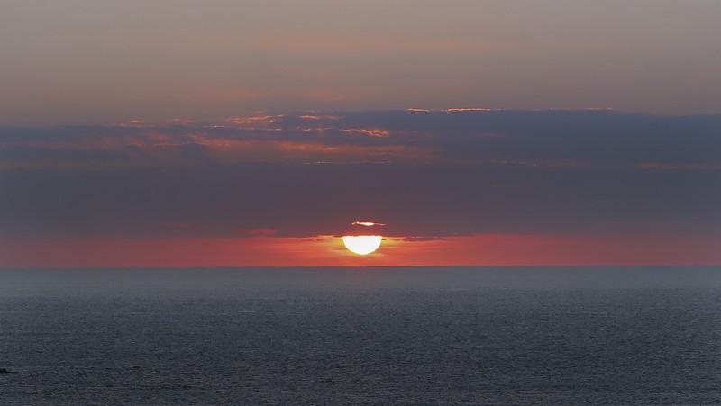 Duckpool Sunset. Near Bude, Cornwall.