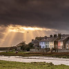 Sunbeams over Aberffraw