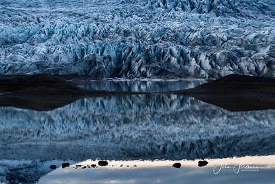 Glacier, Eastern Iceland