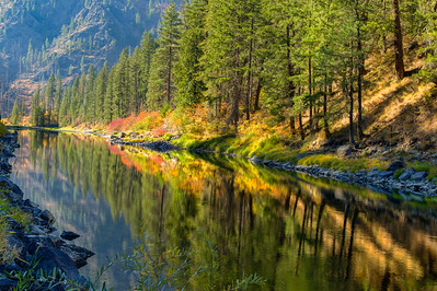 Tumwater Canyon Reflection