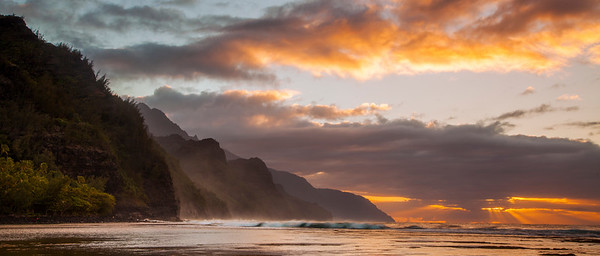 Na Pali Coast Panorama
