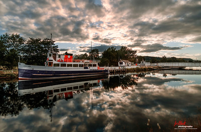 Jacobite Queen at Caledonian Canal