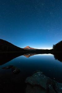 Mount Hood Stars Fish Eye - Mount Hood-5