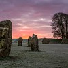 Cold Avebury Dawn
