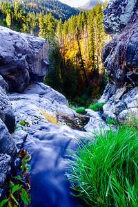 Autumn at Workman Creek Falls