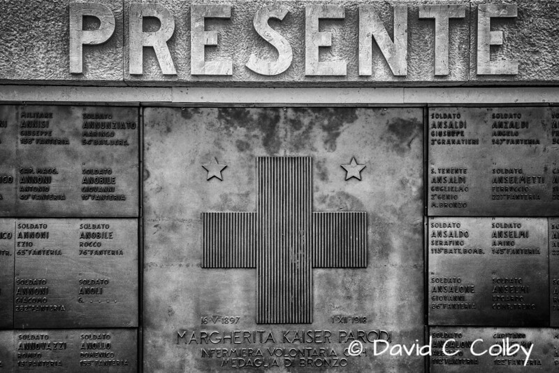 Memorial to Margherita Parodi, The Only Italian Female Soldier Killed in World War I