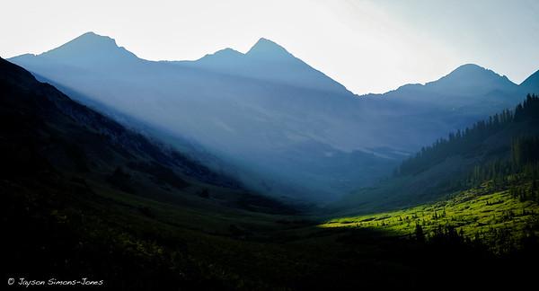 Sunrise Illumination...Elk Mountains, CO