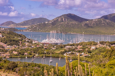 English Harbor, Antigua.