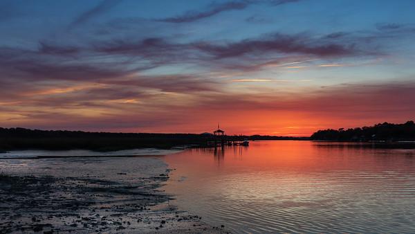 Awendaw Sunset