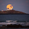 Nubble Moon Rise