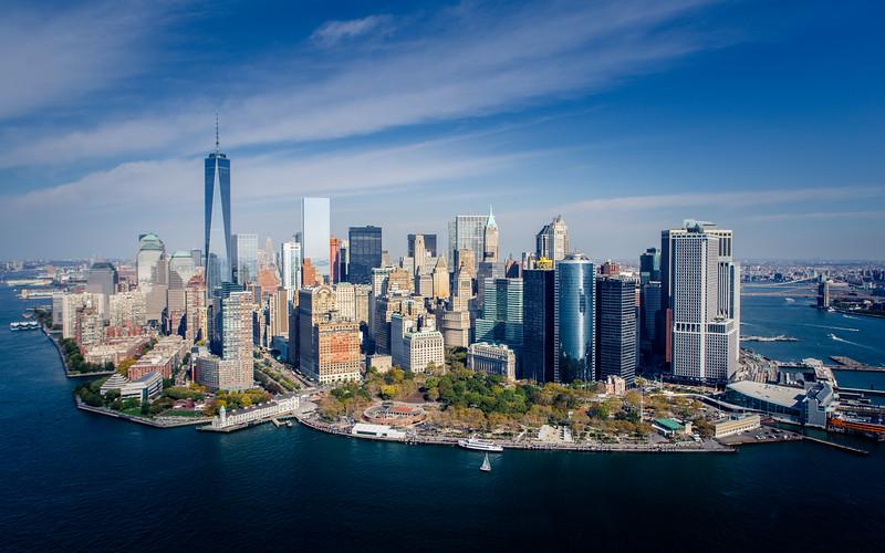 Downtown Manhattan {Freedom Tower}