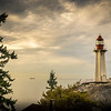 Port Atkinson Lighthouse in Fall