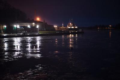 Night Vyborg, Russia, 2018.