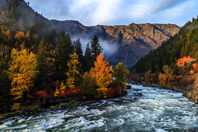 Wenatchee River Autumn