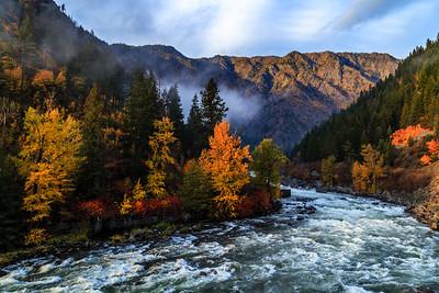Wenatchee River Autumn