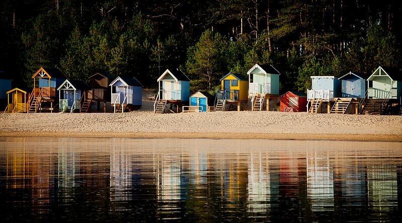 Beach Huts Wells