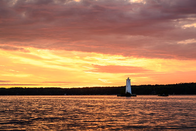 Loon Island Summer Sunrise 9