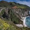 Bixby Creek Bridge, Pacific Coast Highway, California