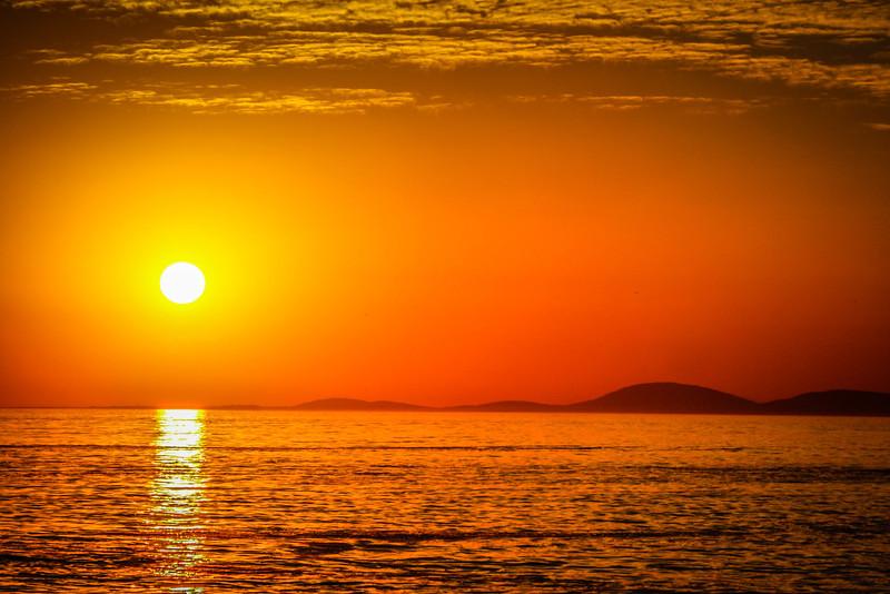 Title: Sunset in Punta del Este  Location: Punta del Este, Uruguay