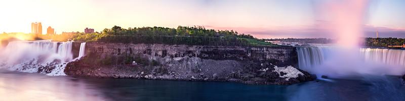 Niagara Falls Panorama