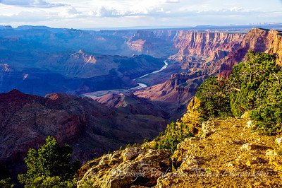 Grand Canyon and Colorado River at sunset (2)