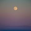 Full Moon Over LA Smog