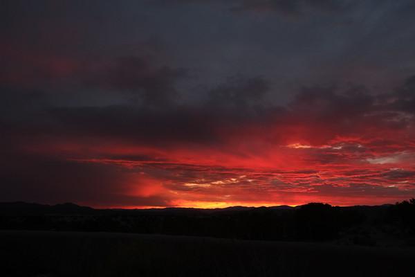 Sunset Over Las Campanas