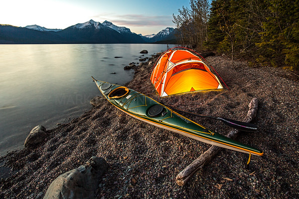 Paddling Dreams  Lake McDonald - Glacier National Park, Montana