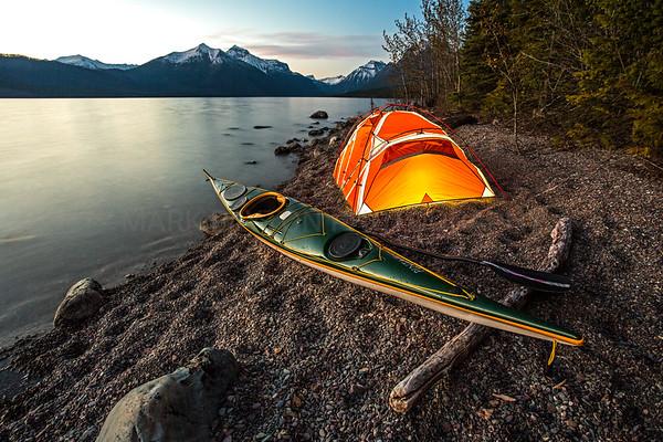 Paddling Dreams  Lake McDonald - Glacier National Park, Montana