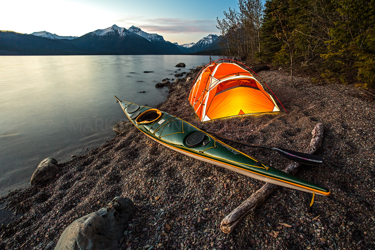 Paddling Dreams<br /> <br /> Lake McDonald - Glacier National Park, Montana
