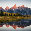 Teton Golden Hour Panorama