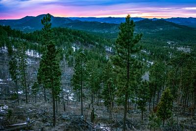 Black Hills Sunset