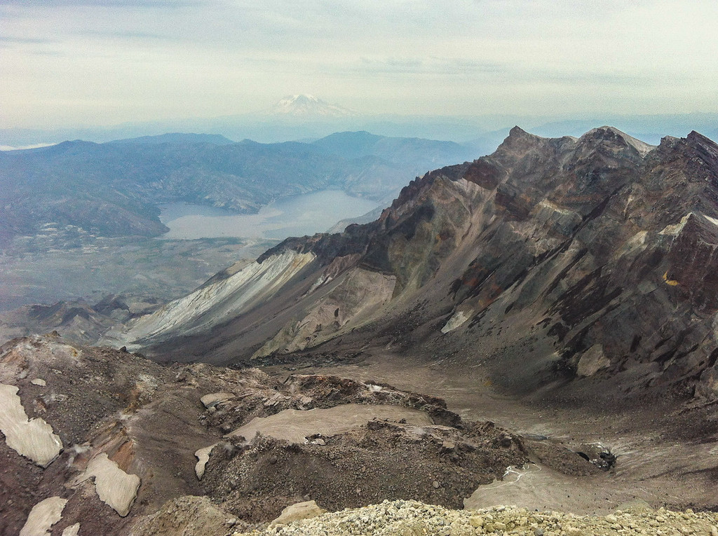 Mount Saint Helen's Crater