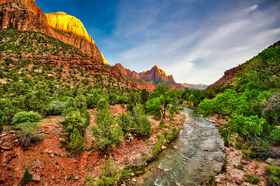 Golden Moment - Zion Bridge