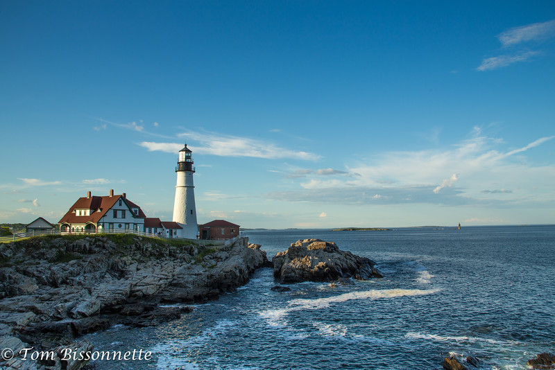 Portland Head Lighthouse.