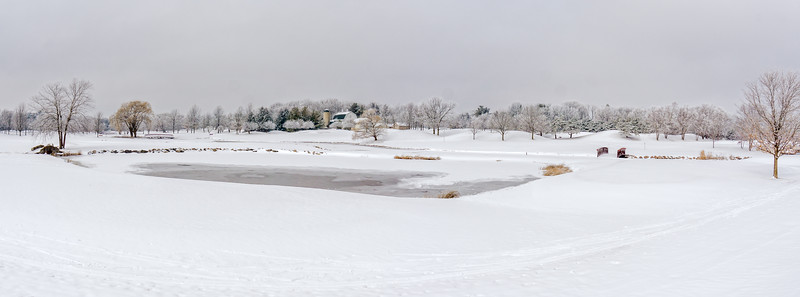 A Pastoral Winter Panorama