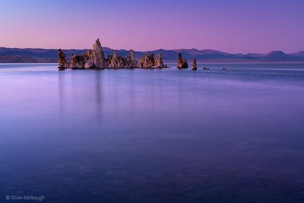 Sunset over Mono Lake 2