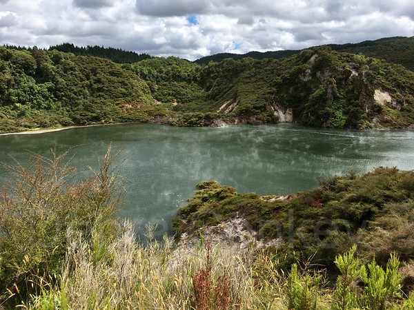 Echo Crater, Waimangu Volcanic Valley, Rotorua, New Zealand