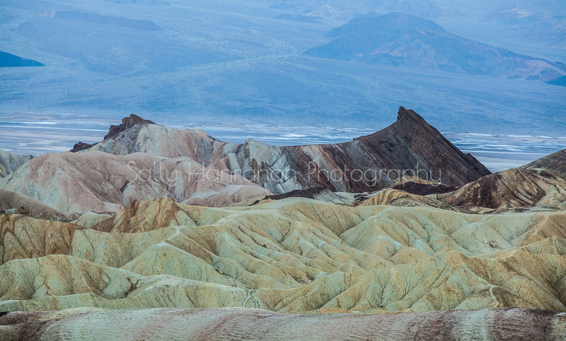 Zabriskie Point and Valley