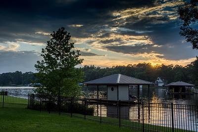 Black Bayou Sunset