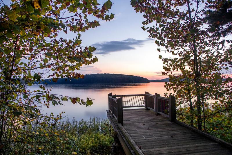 Badin Lake Overlook