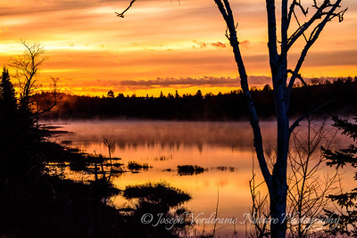 Algonquin Lake at dawn