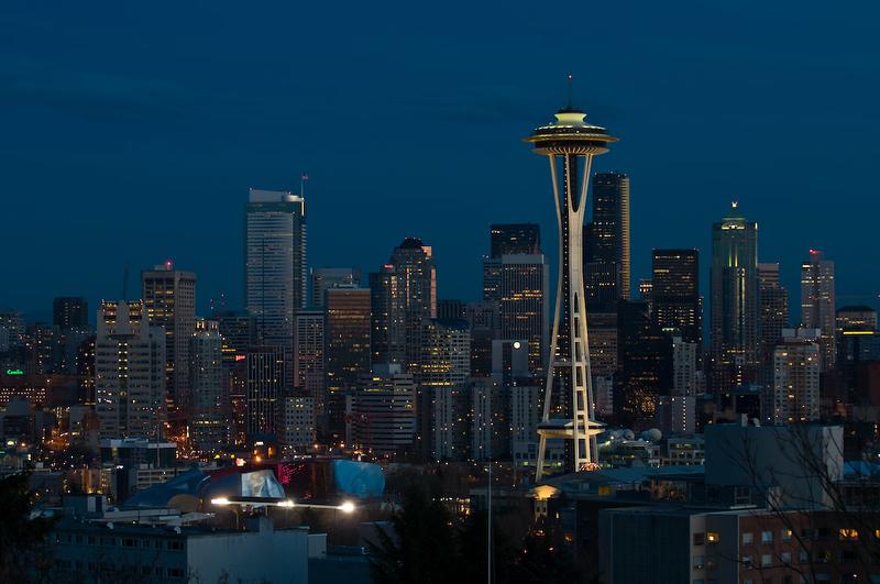 Nightfall, Seattle